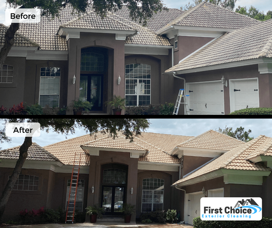 tile roof cleaning ponte vedra beach