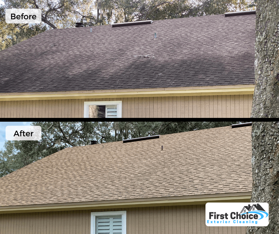 roof cleaning service in jacksonville fl