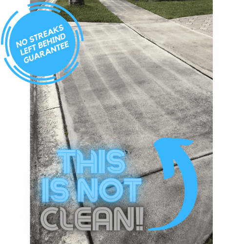 Professional driveway cleaning service in jacksonville fl
