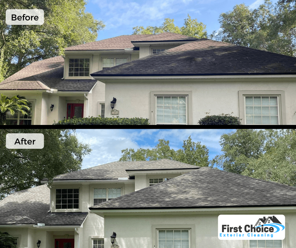 roof cleaning green cove springs