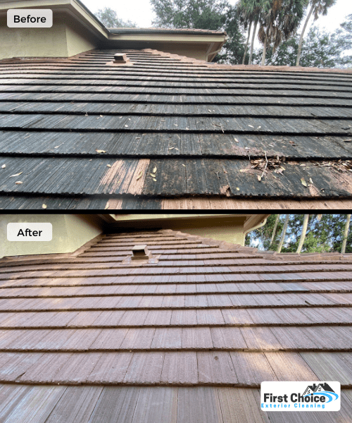 tile roof cleaning in atlantic beach