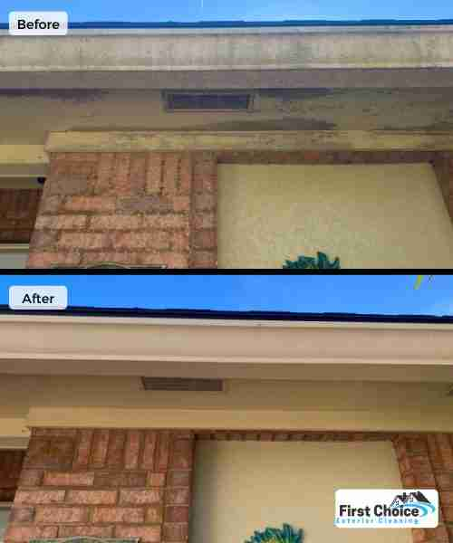 house wash and gutter cleaning in jacksonville beach