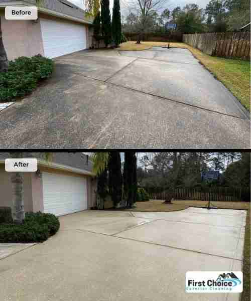 Driveway Cleaning in Jacksonville
